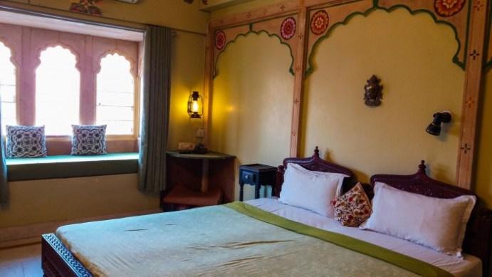 """Jodhpur Inde,chambre de mon hôtel: """"hôtel haveli"""""""