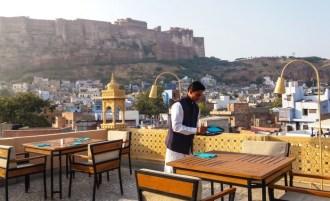 Jodhpur Inde,le Fort Mehrangarh vue de mon restaurant