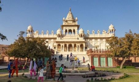 Jodhpur Inde,Aswant Thada, cénotaphe