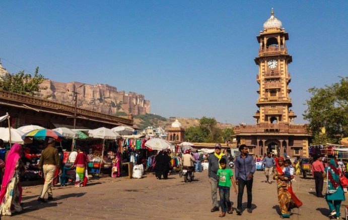 Jodhpur Inde, Sadhar Market