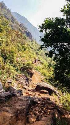 Les chemins entre Bandipur et Ramkot