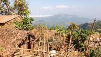 Ramkot et ses habitants face à l'himalaya