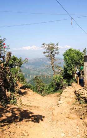 Chemin de Bandipur à Ramkot