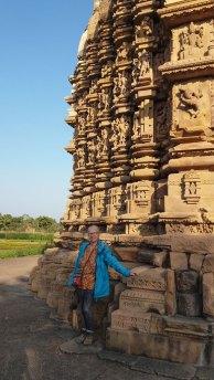 façade d'un des Temples de Khajuraho