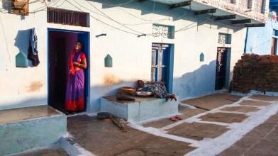 Habitantes de Khajuraho