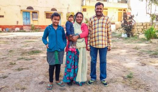 La famille du Haveli Elephant Stable