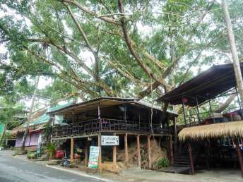 Cafés restaurants de Lonely Beach à Ko Chang
