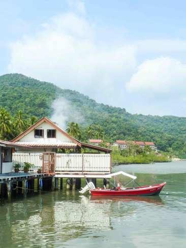 Village sur pilotis de Bang Bao à Ko Chang