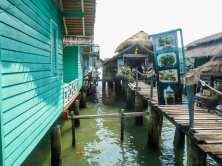 Villages Hôtels restaurants de Bang Bao Ko Changur pilotis de Bang Bao à Ko Chang