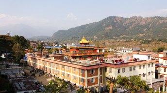 camp de réfugiés Tashi Palkiel à Pokhara