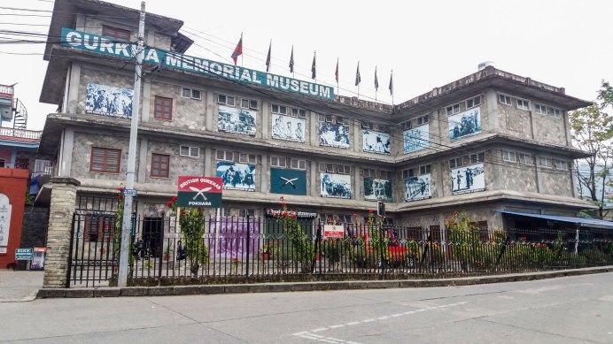Gurkha Memorial Muséum situé dans Pokhara.