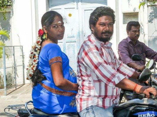 La moto, moyen de transport répandu en Inde