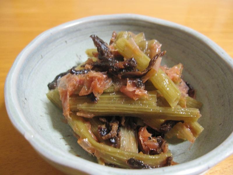 ふき レシピ