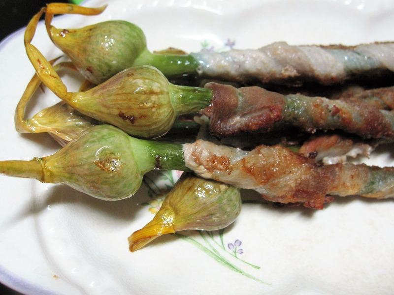 ジャンボニンニクの芽 レシピ