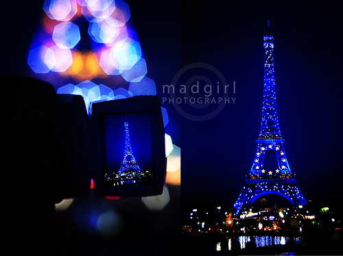 photo-of-phot-of-bluish-eiffel-at-nite