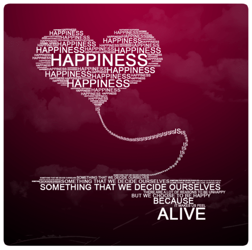 happiness is something that we decide for ourselves
