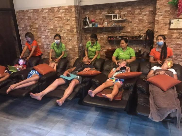 Foot Massage on Soi Nanai 8