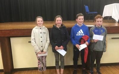 Schools Quiz Winners