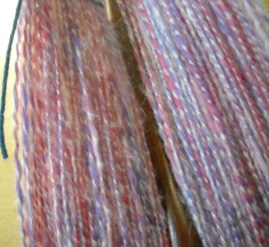 wool plied with mohair