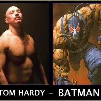 Tom Hardy Como Bane y Anne Hattaway, Como Catwoman, Es lo que Dicen