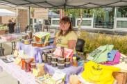 Julie St. Louis from Chugiak sells Alaska Heavenly Honey.