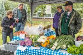 Fall produce from Tom Bergey, Bergey Family Farm, Palmer.