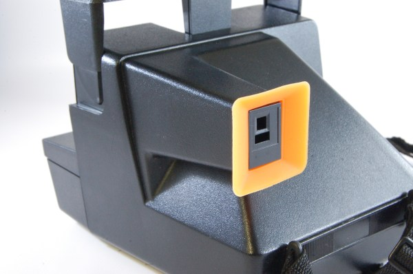 Eyecup replacement for Polaroid Cameras