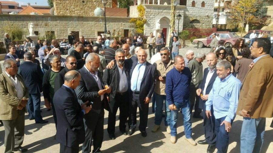 بالصور حنا العتيق في بشري بعد 40 عاما Mulhak ملحق أخبار