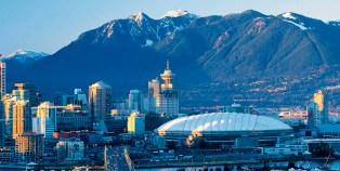O skyline de Vancouver. Foto de ovationdmc.com