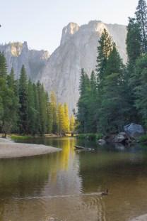 montanhas de Yosemite