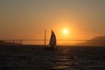 por-do-sol em São Francisco