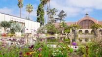 Uma das áreas mais fotogênicas do Balboa Park