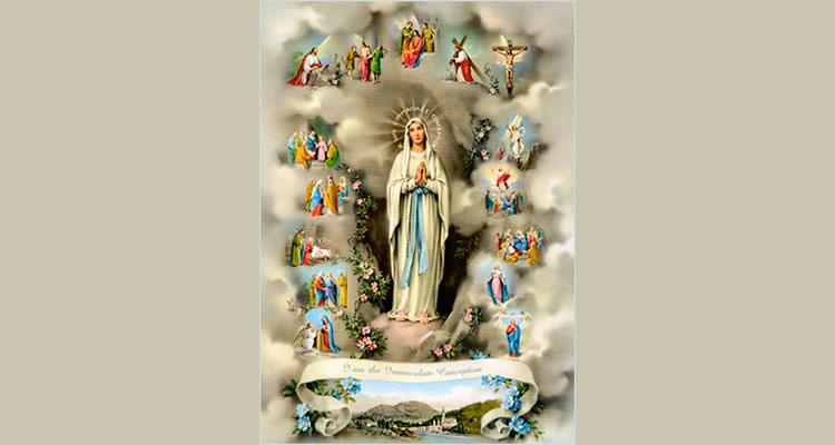 """""""O Rosário é como que um segundo memorial e representação da vida e da paixão de Jesus Cristo."""""""