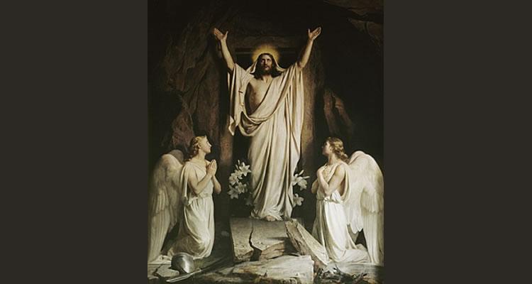 """""""A Ressurreição"""" - Carl Heinrich Bloch"""