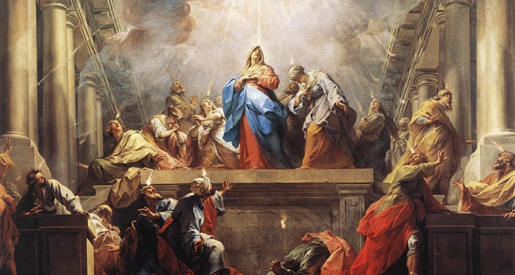 """Pentecostes"" - Pintura deJean Restout (1692-1768)"