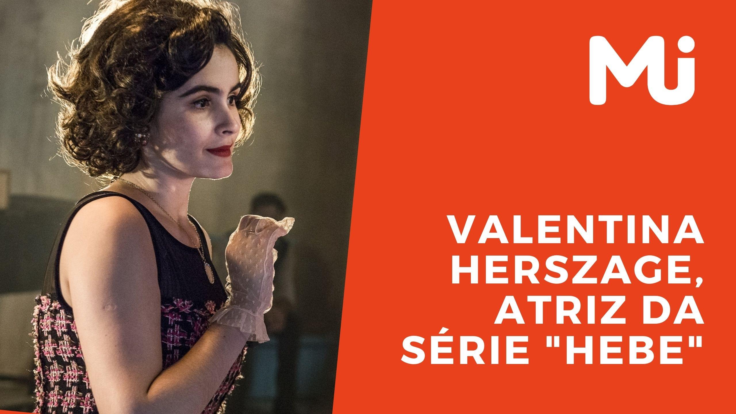 "TV MJ entrevista a atriz Valentina Herszage da série ""Hebe"""