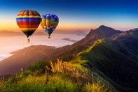 Balonismo também é sinônimo de turismo brasileiro
