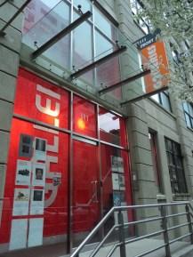 Antigo endereço da AIR Gallery, na Front Street