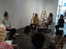 Fala na AIR Gallery sobre o projeto Mulheres na Arte Contemporânea