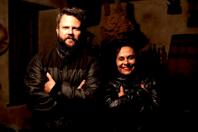 Selton Mello e Vania Catani já fizeram três filmes juntos