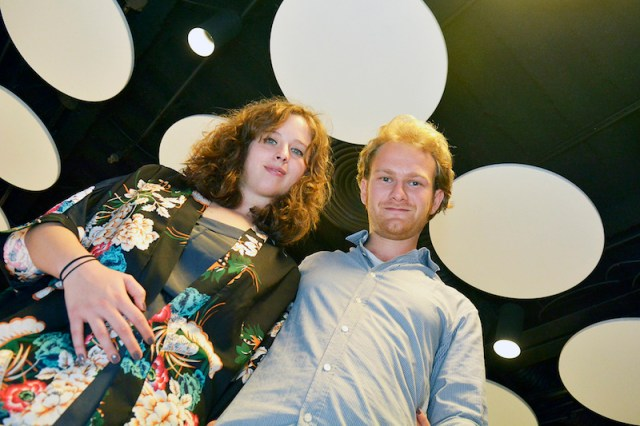 A dupla de diretores Beatrice Segolini e Maximilian Schlehuber - Crédito: Claudio Pedroso/Agência Foto