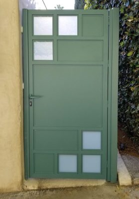 Green solid aluminum gate