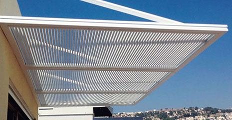 Sleek Pergola Overhang - Quality Aluminum - Mulholland Brand