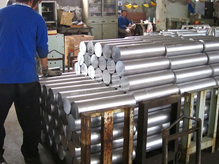 Aluminum benefit is high strength to weight ratio