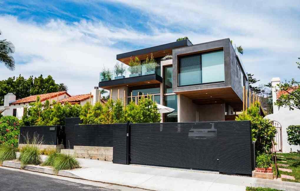 contemporary home with hi-tech design