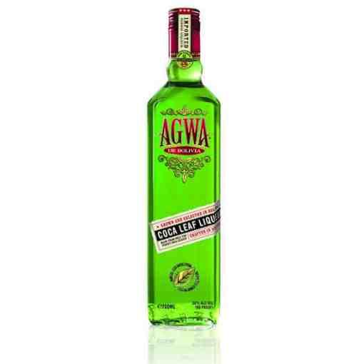 agwa coca leaf liquer. legal cocain in a bottle