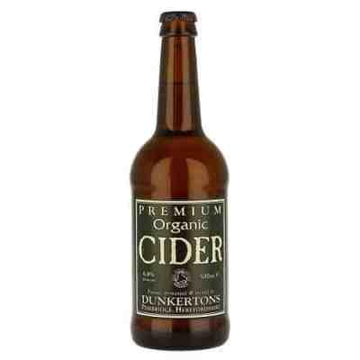 dunkertons premium organic cider