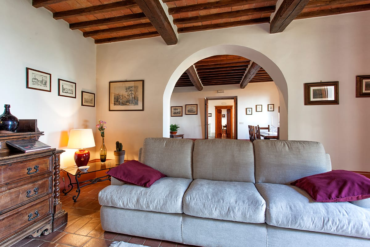 Agriturismo Country House In Classic Tuscan Style In