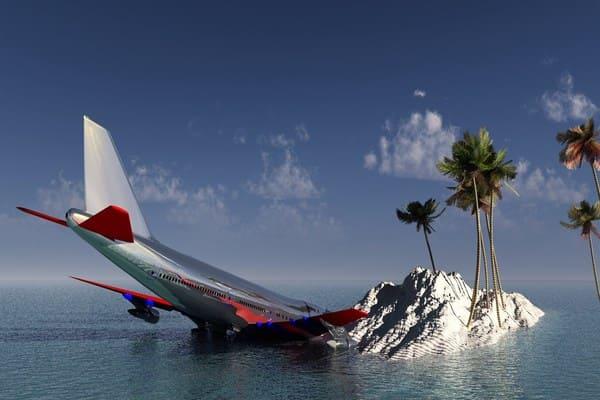 تفسير حلم سقوط طائرة امامي