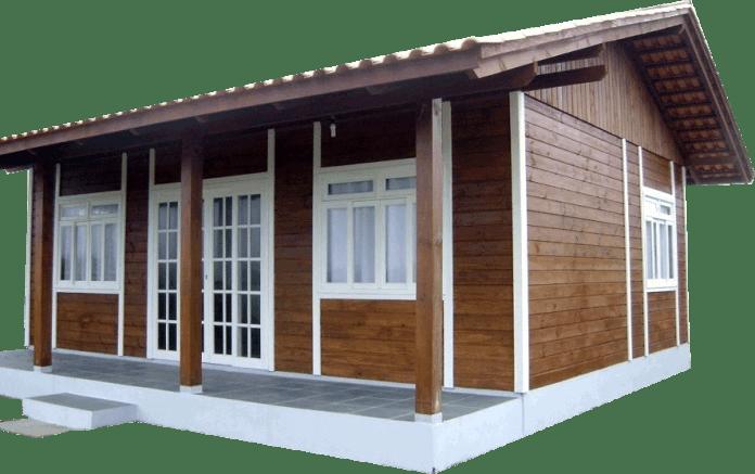 Casa com fundo transparente